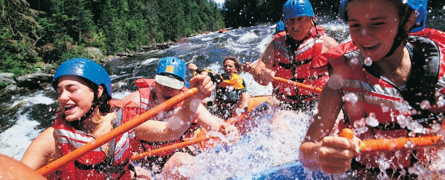 A Family Whitewater Rafting