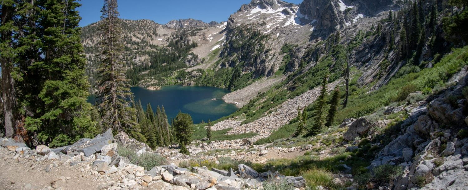 Alpine Lake in Idaho